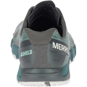 Merrell Bare Access Flex Shield Løbesko Herrer grå/turkis